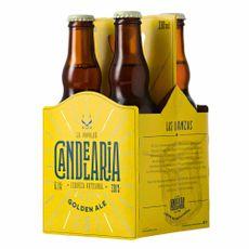 Cerveza-Artesanal-Candelaria-Golden-Ale-Pack-4-Unid-x-330-ml