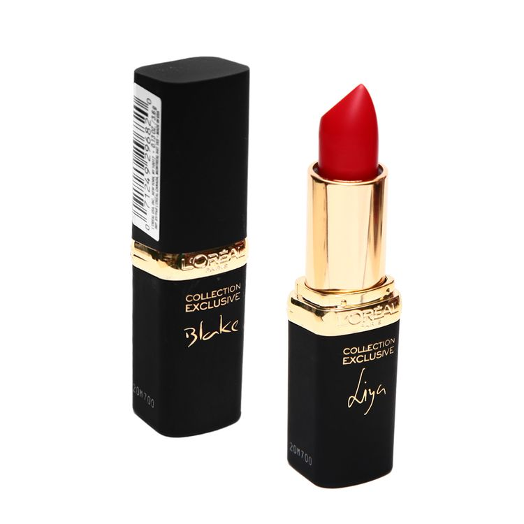Labial-Collection-Exclusive-Pure-Red-L-Oreal-Paris-CP15-Blake