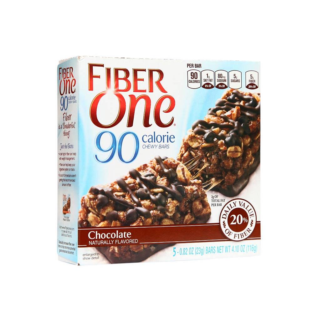 Cereal En Barra Fiber One Chocolate Caja 5 Unidad