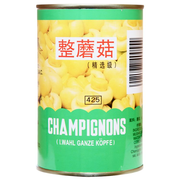 Champinones en lata