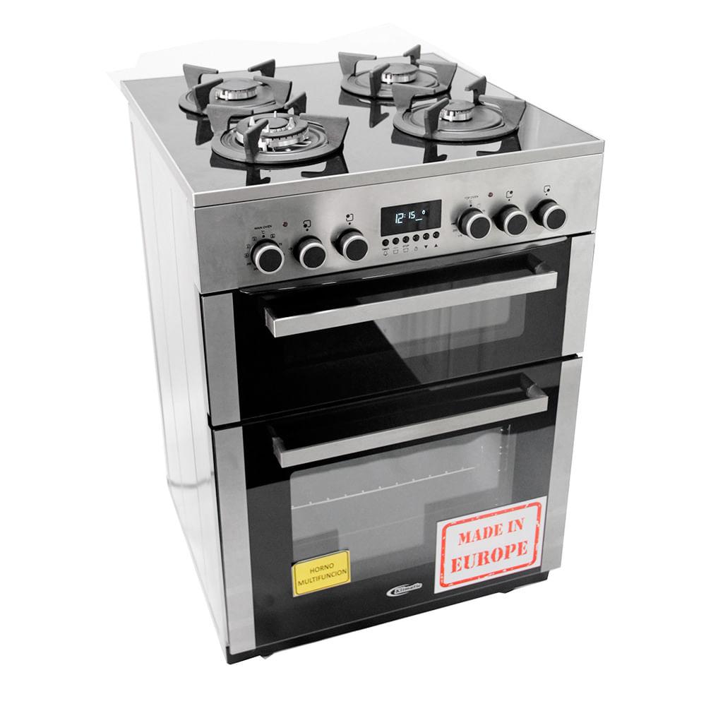 Klimatic Cocina de Pie a Gas 4 Hornillas Vitale E Plateado | Wong ...