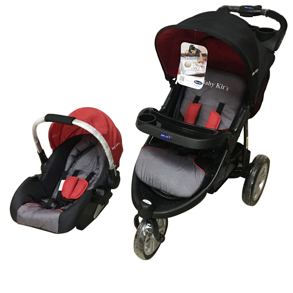 Baby Kits Coche Fox Rojo Coche Fox Bk Wong