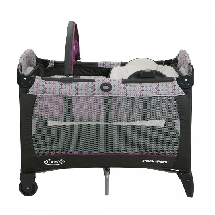 f62e0727a frontal. Graco Cuna Corral Pack and Play Napper Nyssa Portátil + Cambiador  Reversible