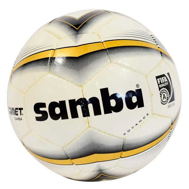 Comet Pelota de Fútbol de Cuero Samba Fifa  5  c2e9ad0e309b