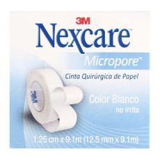 Micropore-Nexcare-Blanco-Cinta-Adhesiva-de-Papel-125-cm-X-91-m-Ideal-para-piel-sensible-1-87185