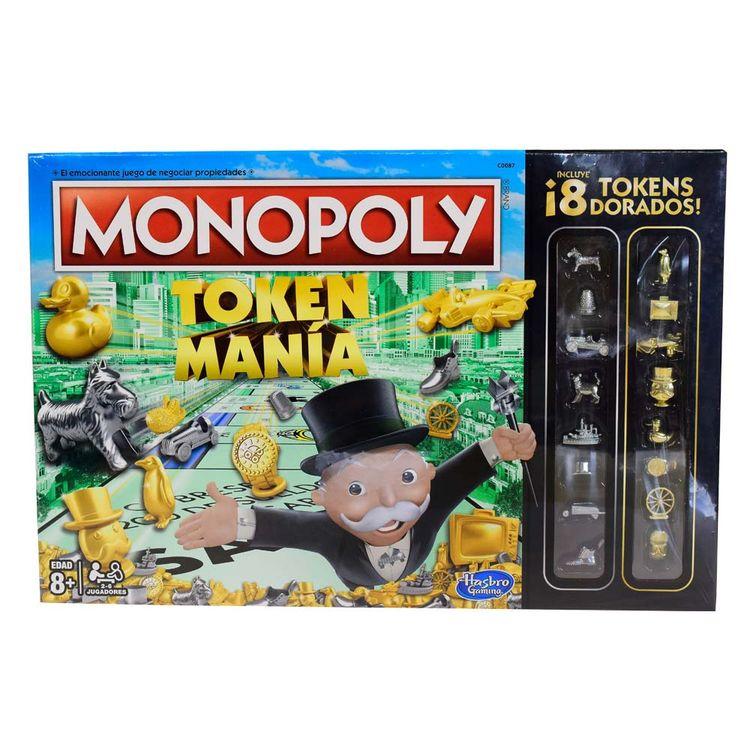 Hasbro Gaming Monopoly Token Madness Wong Peru