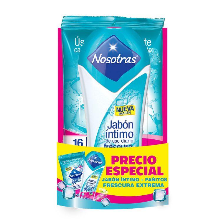 Gel-Intimo-Nosotras-Pack-Frasco-150-ml---Pañitos-16-unidades-1-31499