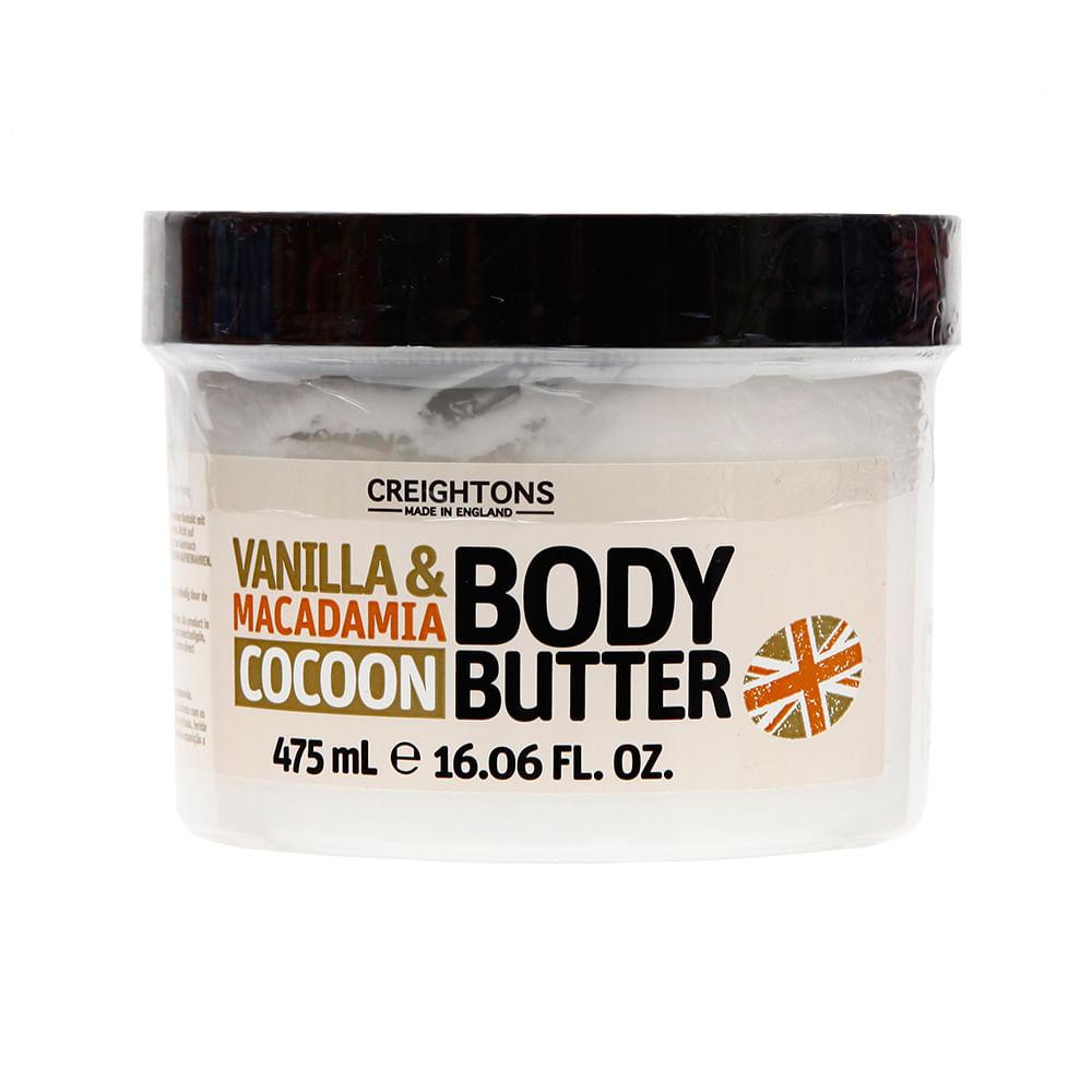 Bossy Butter Creightons Vanilla Macadamia Pote 475 Ml Wong  # Tienda Vainilla Muebles