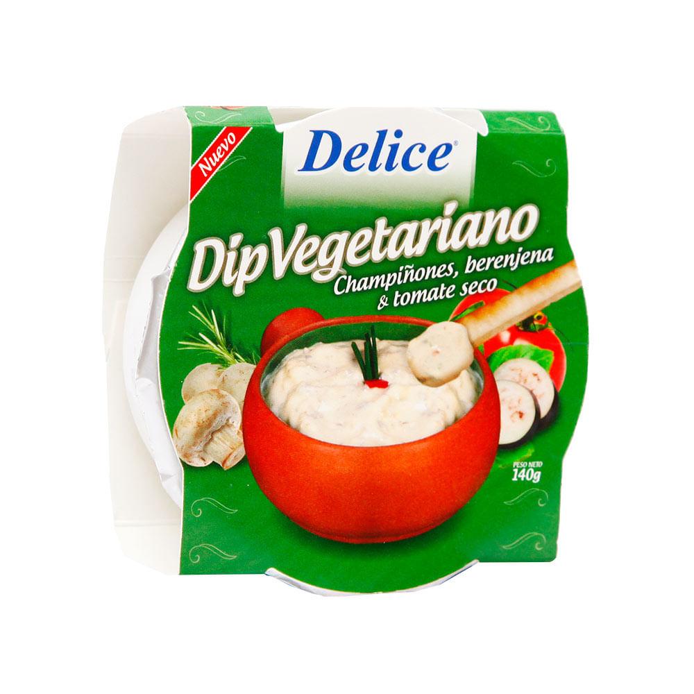 Dip Vegetariano Delice Champiñones, berenjena y tomate seco Pote 140 ...