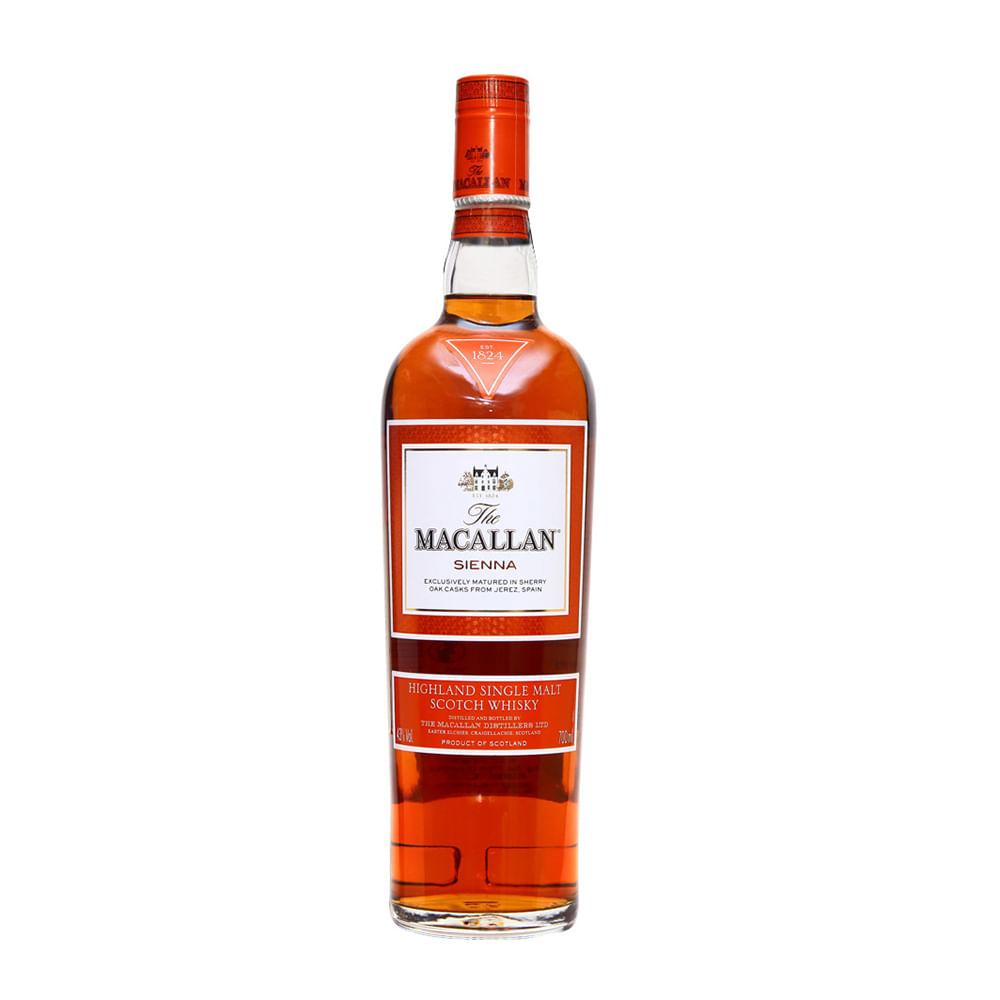 Whisky Macallan Sienna Botella 750 Ml Wong Per Wongfood # Muebles Para Guardar Whisky