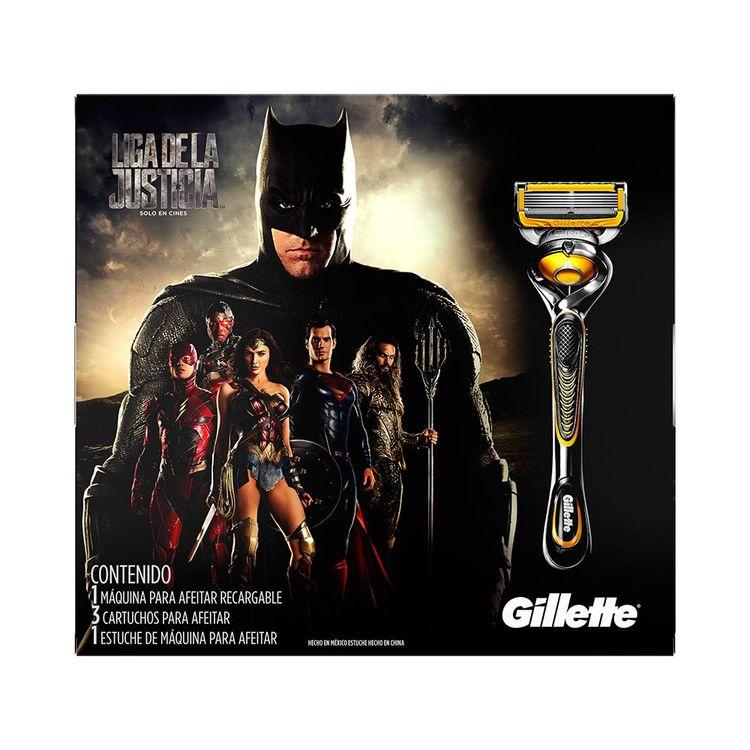 Maquina De Afeitar Gillette Liga De La Justicia Pack 1 Maquina ... 0c22f6749523