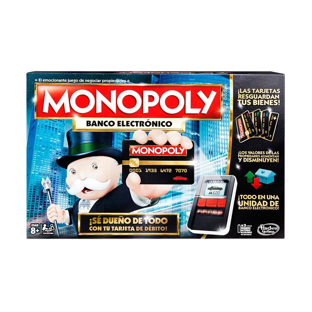 Hasbro Monopoly Ultimate E Banking B6677 Wong Peru