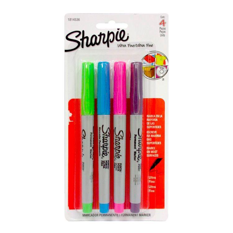 Sharpie-MarcPermSharpie-UltFinFashion-X4Un-MARC-ULT-FINE-FHX4-1-37228