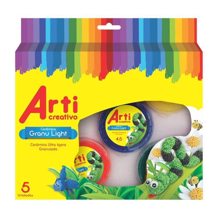 Arti-Creativo-Masa-Granulight-5-X-45-Ml-Basicos-1-22112