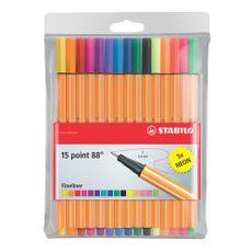 Arti-Creativo-Stabilo-Point-88-Estuche-X-15-Unid-POINT88-X-5-PZA-1-7067