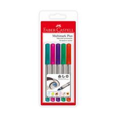 Faber-Castell-Blister-X-5-Multimark-Plus---Estandar-1-1-24290