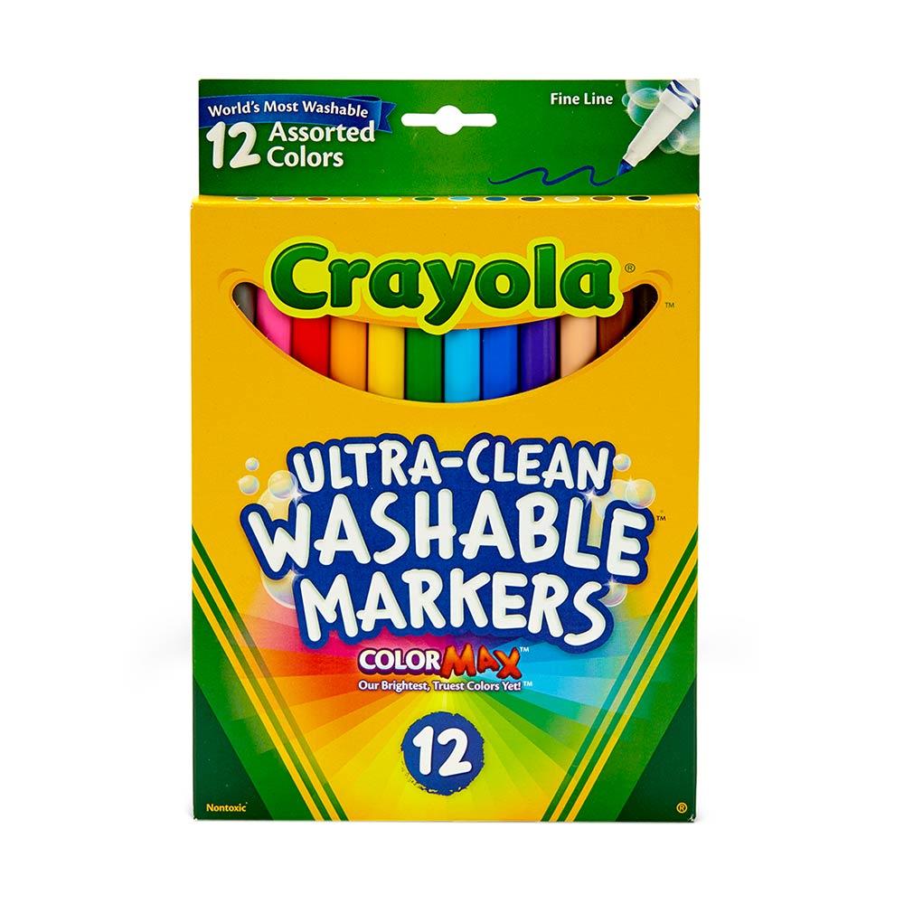 Crayola Crayola® 12 Plumones Delgados Lavables |Wong Perú - Metro-Peru