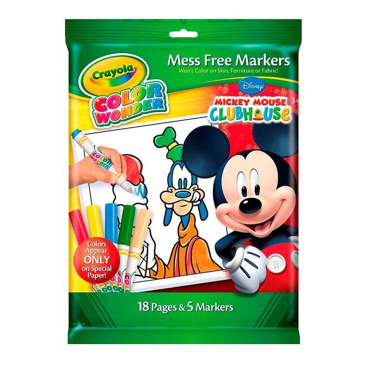 Crayola Crayola® Color Wonder Hojas Para Pintar Mickey Mouse |Wong ...