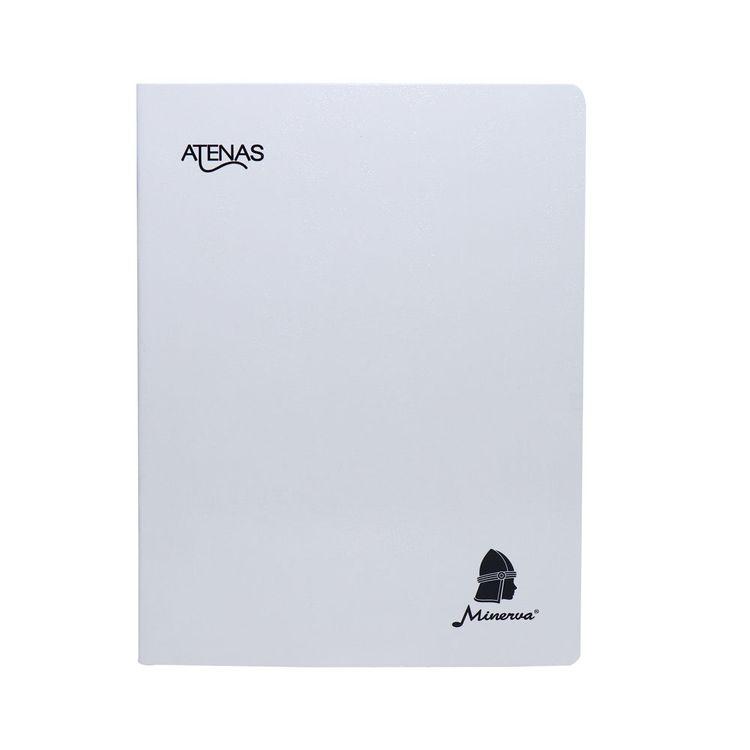 Minerva-Cuaderno-De-Luxe-80Hj-Rayado-Solido-Minerva-Atenas-1-34729