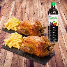 2-Pollos---2-Porciones-de-Papa---Chicha-Morada-Naturale-1-Litro-1-124168