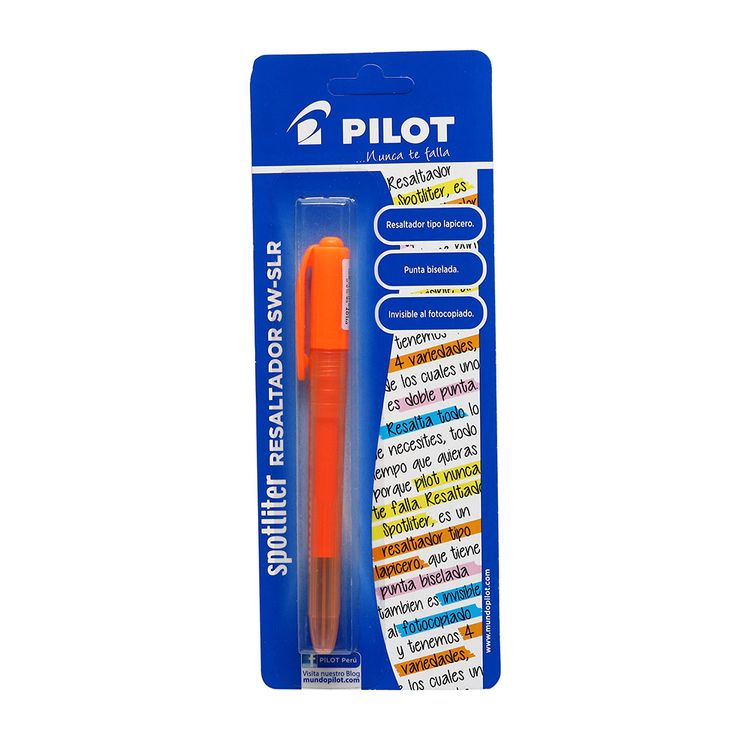 Pilot-Resaltador-Sw-Slr-Naranja-En-Bolsa-1-22653