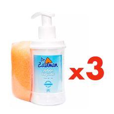 Jabon-Liquido-Glicerina-Dr-Zaidman-Frasco-300-ml---Espejo-Pack-3-Unidades-1-8299847