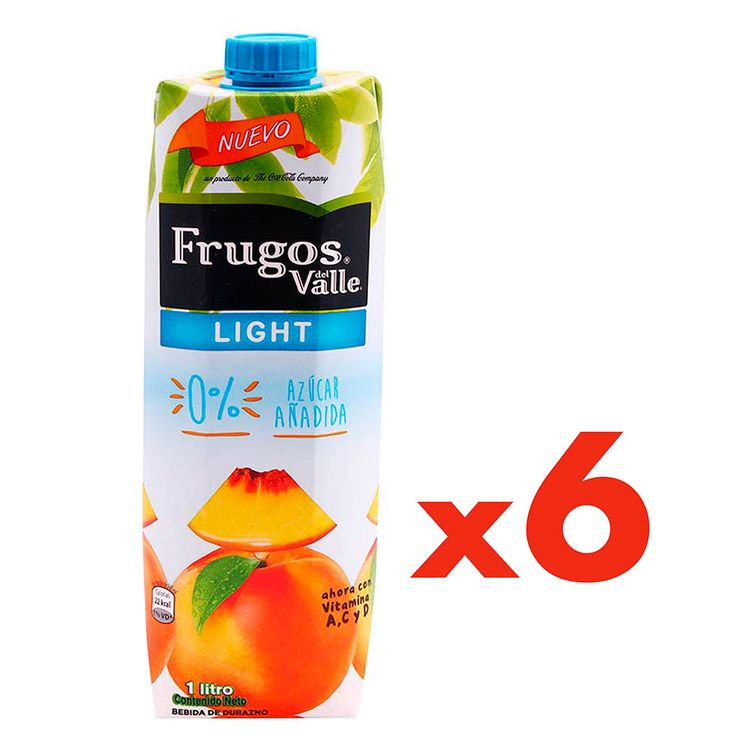 Jugo-Frugos-Light-Durazno-Pack-6-Unidades-de-1-Litro-c-u-1-11992655
