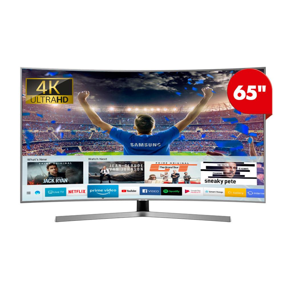 Samsung Smart Tv Curvo 65 4k Uhd 65nu7500 Wong Per Wong Peru
