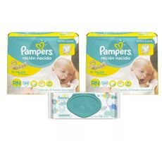 Pañales-Pampers-New-Baby--2-a-45-kg---Paquete-20-Unidades-02-Paquetes----Toallitas-Humedas-Pampers-Sensitive-Paquete-56-Unidades-1-17188143