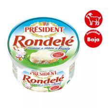 Queso-Crema-de-Cabra-President-Rondele-Pote-100-gr-1-51176