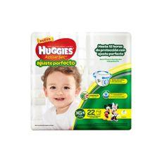 Pañales-Huggies-Active-Sec-Ajuste-Perfecto-Talla-XG-Paquete-22-Und-1-14376553
