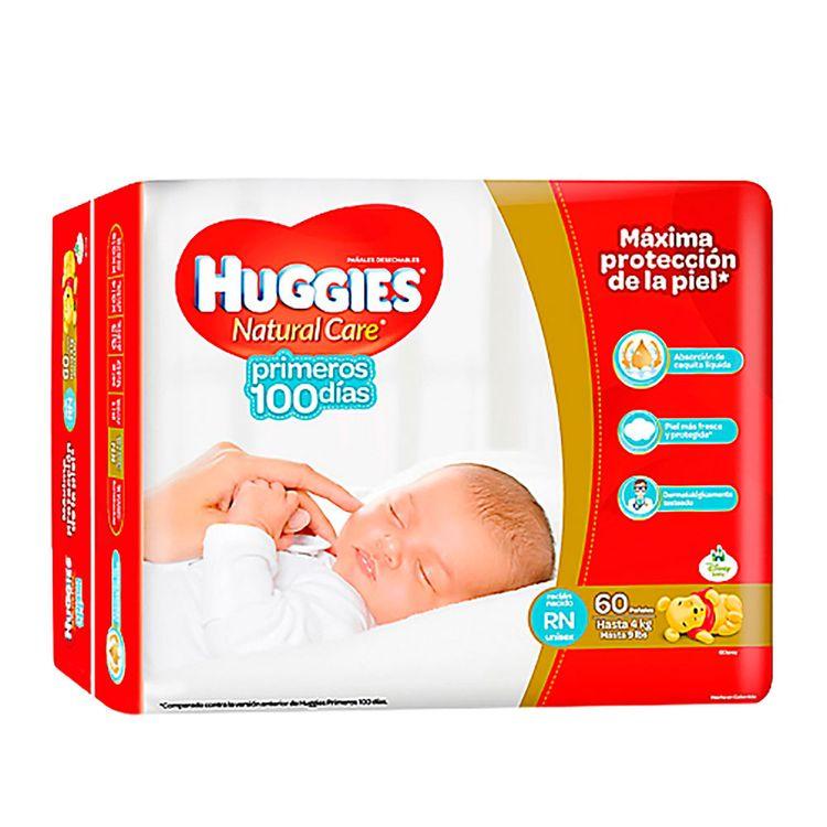 Paquetes Para Bebes Recien Nacidos.Panales Para Bebe Huggies Natural Care Primeros 100 Dias