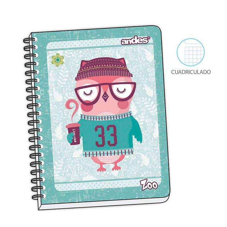 Cuaderno-Espiralado-A-5-180-Hojas-Cuadriculado-Zoo-1-36813
