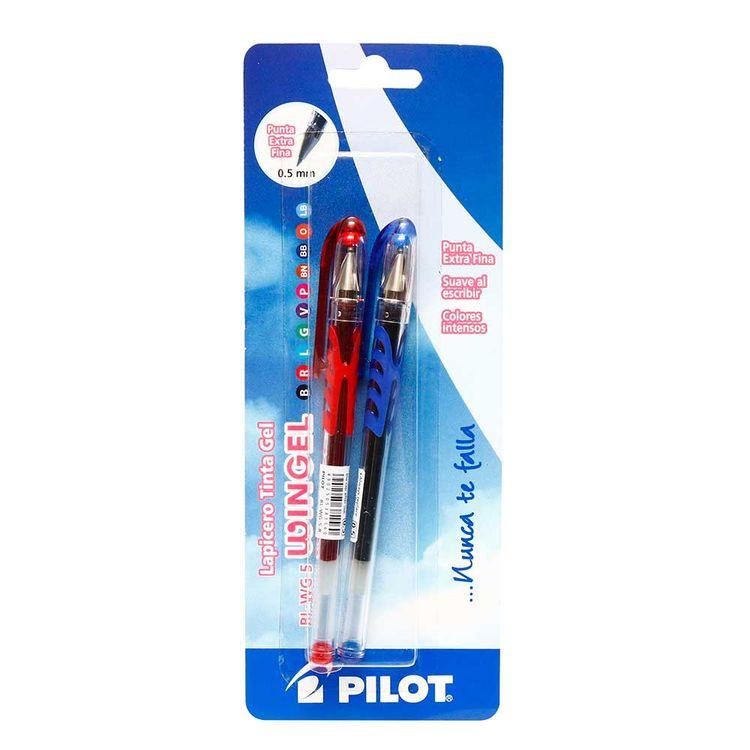Pilot-Skin-Boligrafo-L-R-Azul-Rojo-1-21922