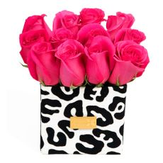 Green-House-Box-Arreglo-Floral-12-Rosas-Glam-Animal-Print-1-50079364