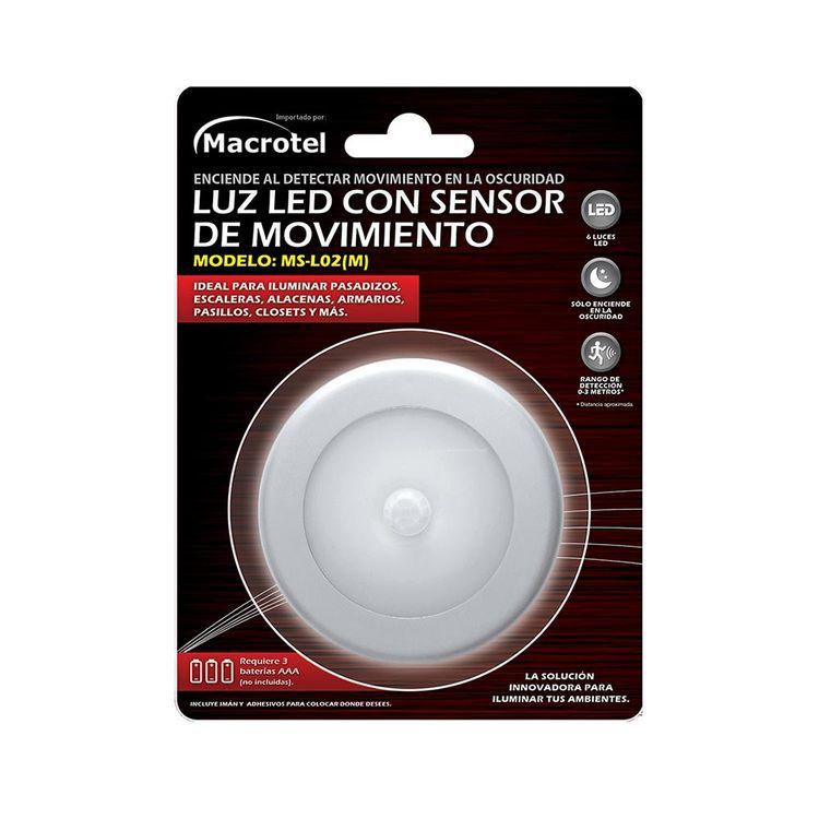 Macrotel-Luz-LED-con-Sensor-de-Movimiento-1-35990951