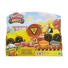 Play-Doh-Wheels-Set-de-Juego-Vehiculo-Excavador-1-41012765