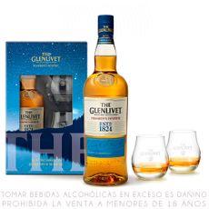 Pack-Whisky-The-Glenlivet-Founder-s-Reserve-Botella-750-ml---2-Vasos-1-23078261