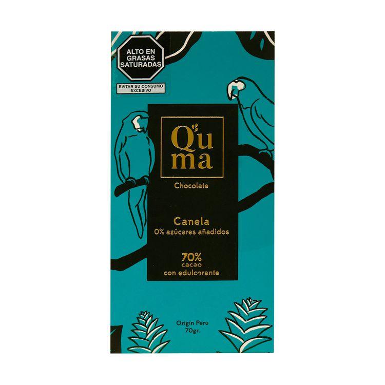 Chocolate-Organico-Con-Canela-y-Sin-Azucar-70--Cacao-Q-uma-Tableta-70-g-1-35730929