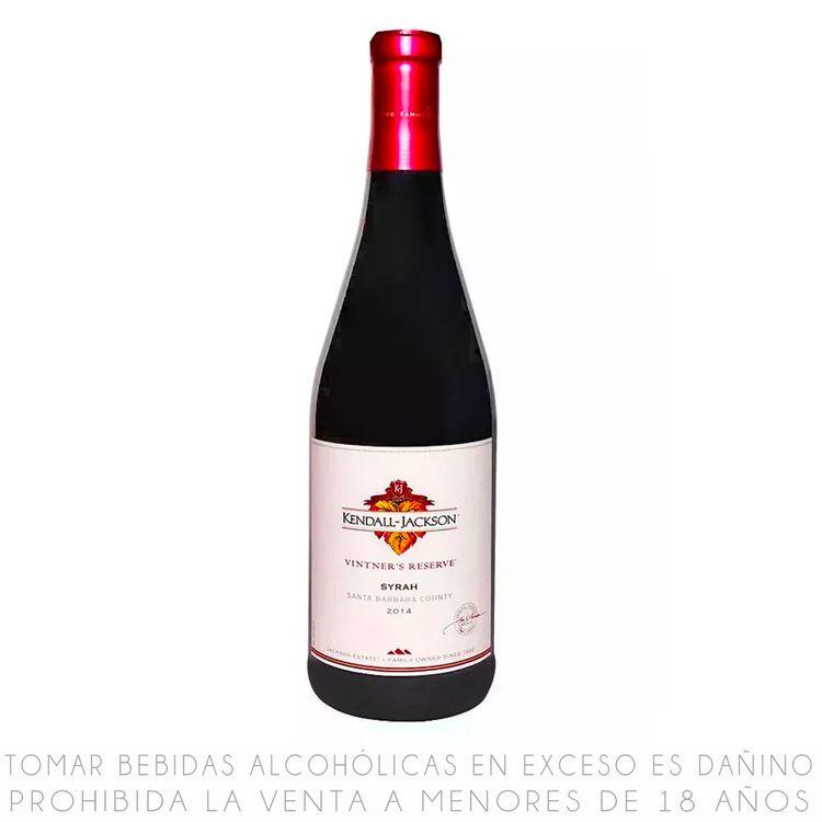 Vino Tinto Kendall Jackson Reserva Syrah Botella 750 Ml Wong