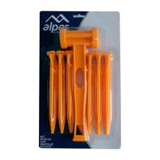 Alpes-Set-de-6-Estacas-Plasticas-con-Martillo-1-22429644