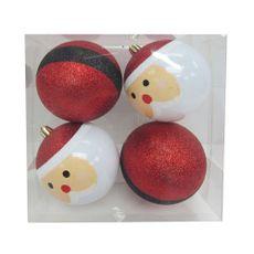 Krea-Esferas-Santa-Happy-8-cm-Pack-de-4-unid-1-33354880