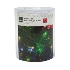Krea-Luces-de-Navidad-LED-Multicolor-x100-a-Pilas-10-mts-1-33354985