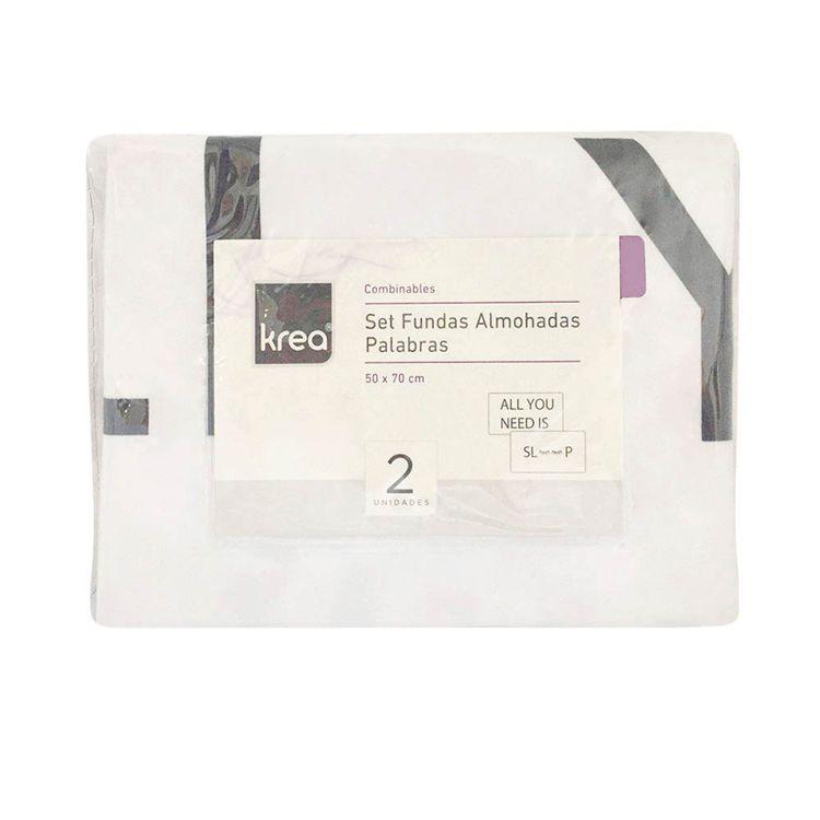 Krea-Funda-para-Almohada-Palabras-50-x-70-cm-Poliester-Pack-2-unid-1-28127239