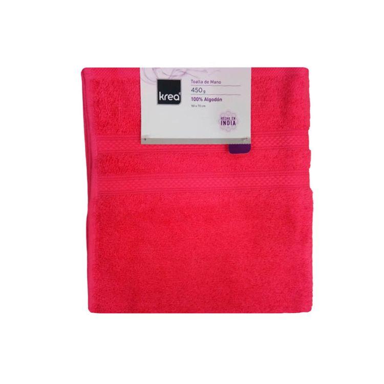 Krea-Toalla-de-Baño-Diseño-02-50-x-70-cm-Algodon-Rojo-1-28127252