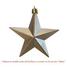 Krea-Colgante-Estrella-Mate-Metalica-10-cm-Surtido-1-33355047