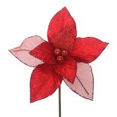 Krea-Pick-Flor-Poinsettia-Whitexmas-20-cm-1-33355095