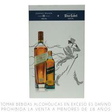 Pack-Johnnie-Walker-18-Años-Botella-750-ml---Johnnie-Walker-Blu-Laberl-Botella-200-ml-1-53327175