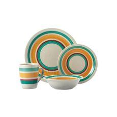 Krea-Vajilla-de-Ceramica-con-Lineas-Turquesa-Set-de-16-Piezas-1-28245687