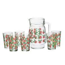 Krea-Set-de-6-Vasos---Jarra-de-Vidrio-Surtido-1-28245897